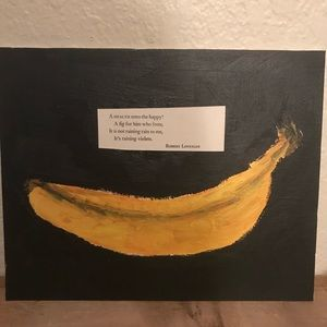 Other - Banana painting